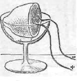 Изготовление гальванического элемента из лимона